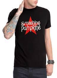 Books About Smashing Pumpkins by Smashing Pumpkins Red Star Logo T Shirt Topic