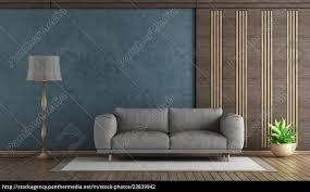 stock bild 23839942 elegantes blaues wohnzimmer