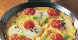 tomaten omelett