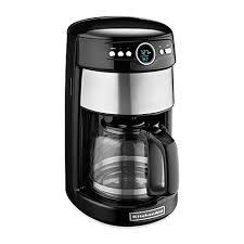 KitchenAidreg 14 Cup Glass Carafe Coffee Maker In Onyx Black