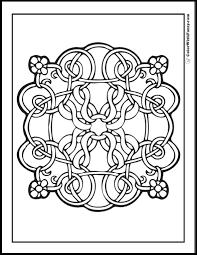 Design Coloring Pages 90 Celtic Scottish Gaelic