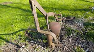 The Old Water Pump On Yard It Is Now A Rusty And Cannot Be