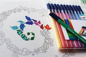 How To Color Cute Best Markers For Coloring Books