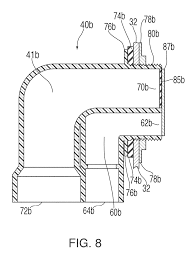 Tub Overflow Gasket Diagram by Patent Us8782824 Tub Drain And Overflow Assembly Google Patents