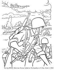 Printable Soldier Coloring Pages