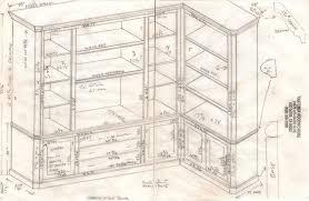 woodworking plans bookshelf blueprint plans pdf plans blueprints