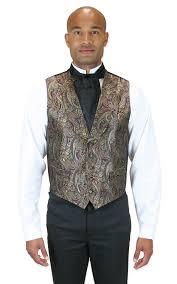 historical emporium men u0027s paisley lombard 100 silk dress vest