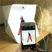 2018 Portable Lightbox Mini Softbox Led Studio Folding Light