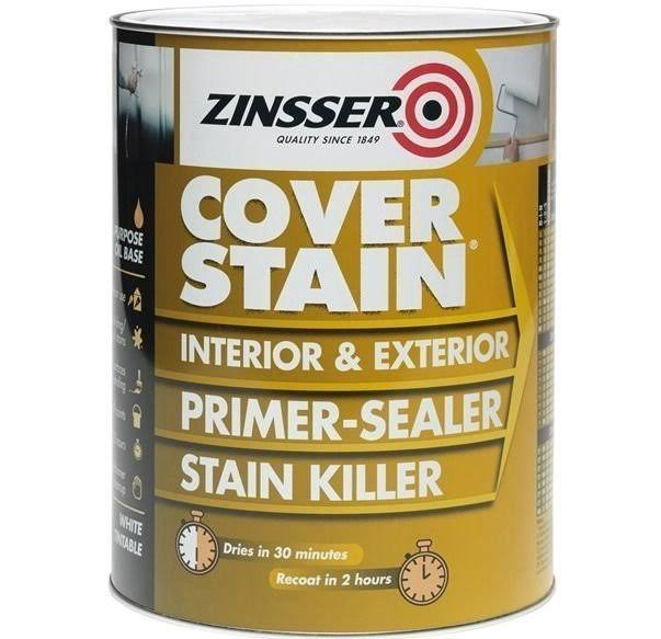 Zinsser Cover Stain Primer-Sealer - White Tintable