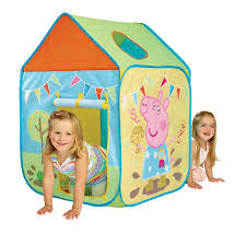 peppa pig tente de jeu maisonnette pop up fr jeux et jouets