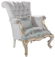 casa padrino luxus barock samt sessel mit kissen grau türkis antik gold 82 x 100 x h 105 cm wohnzimmer möbel im barockstil