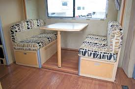 New Dining Chair Wall To Dinette Table For Travel Trailer
