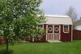 Amish Built Storage Sheds Illinois by Lofted Garden Barn U003e Portable Buildings Storage Sheds Tiny Houses