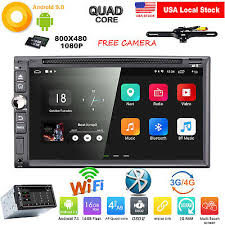 7 2din android 9 0 car stereo radio touch screen gps