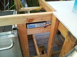 My Outdoor Kitchen Album Imgur inside Outdoor Stereo Cabinet pertaining to Motivate