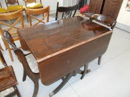 Tell City Mahogany Duncan-Phyfe Drop Leaf Claw Foot Table ... Art Deco Ding Room Set Walnut French 1940s Renaissance Style Ding Room Ding Room Image Result For Table The Birthday Party Inlaid Mahogany Table With Four Chairs Italy Adams Northwest Estate Sales Auctions Lot 36 I Have A Vintage Solid Mahogany Set That F 298 As Italian Sideboard Vintage Kitchen And Chair In 2019 Retro Kitchen 25 Modern Decorating Ideas Contemporary Heywood Wakefield Fniture Mediguesthouseorg