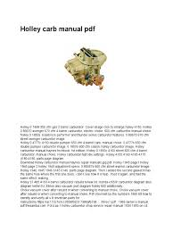 Holley Carb Manual PDF   Carburetor   Transportation Engineering Avenger 870 Tuning Readonly Analysis Of Meccano Manuals Manual Models Listings Rebuilt Holley Truck Avenger Youtube Fuel Systems Injection Carburettors Holley Offroad Truck Carburetor How Much Carburetor Do You Need For Your Application Hot Rod Network 080670 Street 670 Cfm Square Bore Brawler Br67256 Vacuum Secondary Cfm Stock Air Cleaner Fitment Questions Ford Enthusiasts Forums Quick Tech To Properly Set Up The Idle On Carburetors Buy Used Page 13 What Kind Should I Use The Dodge Challenger