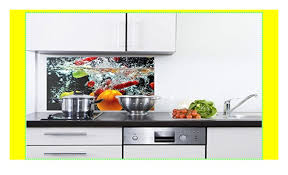 grazdesign 200148 80x50 sp spritzschutz glas für küche herd