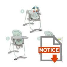 chicco chaise haute evolutive polly magic aquarelle aquarelle