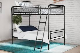 Dorel Bunk Bed by Black Wrought Iron Twin Bed Full Image For Small Twin Bed Frame