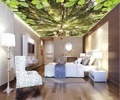 dekorative gemälde benutzerdefinierte 3d decke wald himmel tapeten wohnkultur tapeten für wohnzimmer decke tapete