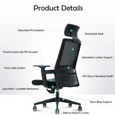 Ergonomic Office Chair, Furniture, Tables & Chairs On Carousell