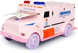 100 Bank Truck Kiti Kits Securicar Money Safe Cash Coin Password