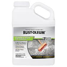 Zep Floor Sealer Sds by Rust Oleum 1 Gal Concrete Etch And 301242 The Home Depot