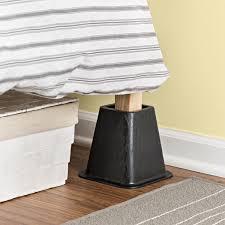 bedroom sofa risers plastic risers bed risers walmart