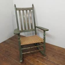 Antique American Porch Rocker In Original Green Paint 1900 ... Victorian Arts And Crafts Solid Oak Antique Glastonbury Chair Original Primitive Press Back Rocking 1890 How To Appraise Chairs Our Pastimes Bargain Johns Antiques And Mission Identifying Ski Country Home Replace A Leather Seat In An Everyday Wooden High Chair From 1900s Converts Into Rocking Lborough Leicestershire Gumtree Sold Style Refinished Maple American Style Childs Antiquer Rocker Reupholstery Vintage