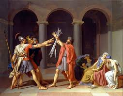 Oath Of The Horatii Second Version 1786