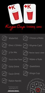 Kings Cup Drinking Card Game Rules