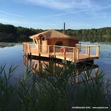 chalet sur l eau zenzîlot les cabanes sur l eau jardin les