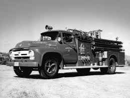 1956 Ford F-750 Big Job Firetruck By King-Seagrave