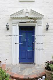 8 Paint Colors For A Blue Front Door — Blue Door Living