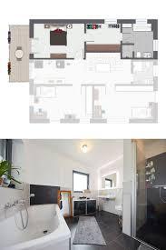 modernes wohnen mit eigener elternzone wohnungsgrundriss