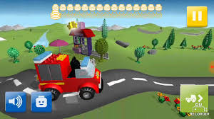 LEGO Junior Create And Cruise | Baby Batman Build Lego Fire Truck ...