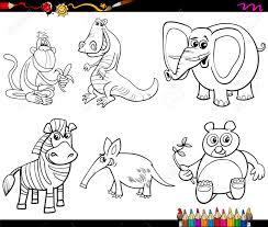 Página Para Colorear De Dibujos Animados Actividad Archivo