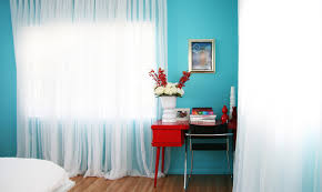 turquoise wall paint bedroom contemporary with bold colors bright