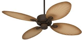 Casa Vieja Ceiling Fans by 52 U0027 Casa Vieja Aerostat Wide Palm Outdoor Ceiling Fan By Lamps