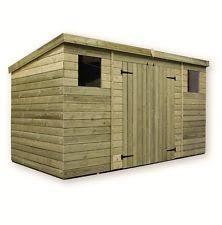 pressure treated shed ebay