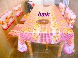 ensemble cuisine ensemble cuisine housse pour chaise et nappe par hmk