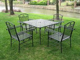 metal lawn furniture vintage outdoor decorations