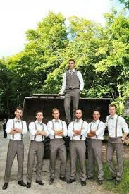 Suspenders For The Groomsmen And A Vest