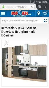 neuwertige küche