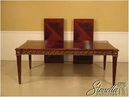 Descriptions Item 38562E JOHN WIDDICOMB Regency Style Dining Room Table