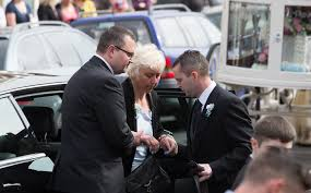 Anjie Galsworthy s s Funeral of Bristol Teenager Becky