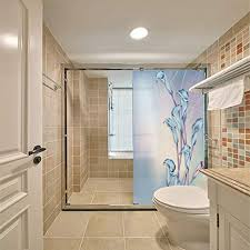 ljiei fensterfolie korridor eingang hintergrund badezimmer