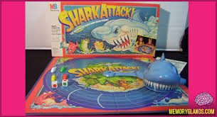 Created In 1988 Shark Attack Was A Board Game