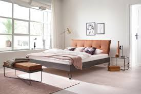 meise möbel metallbett boston polsterkopfteil mit 4 punkt steppung und umlaufender biese diverse fußvarianten möglich